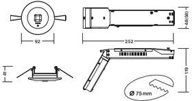 C.LEDLUX-B-V-SPOT2 / MULTILED-B-V-SPOT2