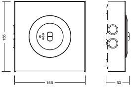 C.LEDLUX-A-P-SPOT2 / MULTILED-A-P-SPOT2