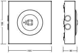 C.LEDLUX-B-P-SPOT2 / MULTILED-B-P-SPOT2