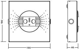 C.LEDLUX-HCA-P-SPOT2 / MULTILED-HCA-P-SPOT2