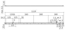 Module LLE G4 24x1120 / 24x1400mm ADV