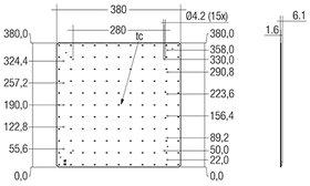 Module QLE G2 380x380mm 5000lm ADV-SE