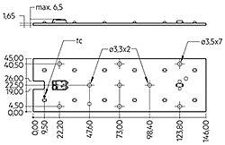 Module RLE 2x6 EXC2 OTD